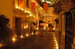 Guaro candle light festival.